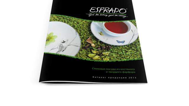 Каталог продукции Esprado. Посуда из фарфора.