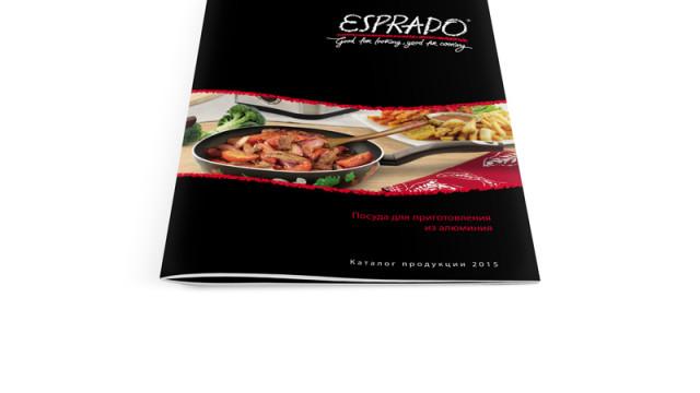 Каталог продукции Esprado. Посуда из аллюминия.